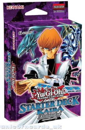 Picture of Yu-Gi-Oh! Starter Deck: Kaiba Reloaded - 50 Cards + Game Mat + Guide - No Box