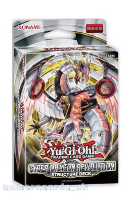Picture of Yu-Gi-Oh! Structure Deck: Cyber Dragon Revolution - New and Sealed Box