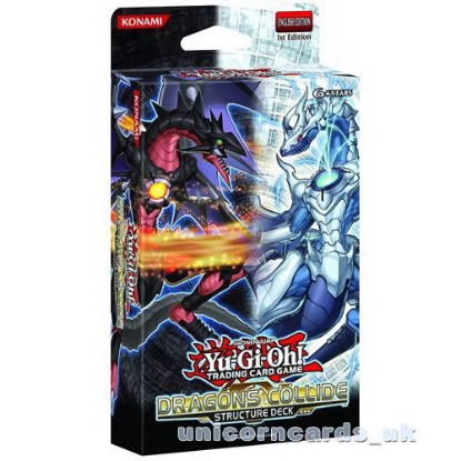Picture of YuGiOh! Dragons Collide Structure Deck UNL Edition :: Brand New and Sealed Box!