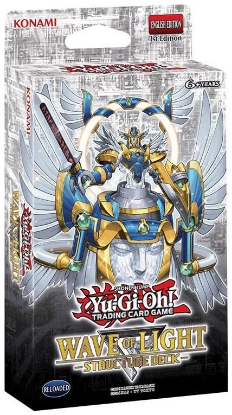 Picture of YuGiOh! Wave of Light Structure Deck :: Brand New And Sealed Box! ::
