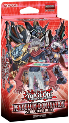 Picture of YuGiOh! Pendulum Domination Structure Deck :: Brand New And Sealed Box!
