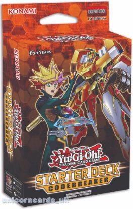 Picture of YuGiOh! Starter Deck: Codebreaker :: Cards Only - No Box! ::