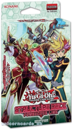 Picture of YuGiOh! Structure Deck: Powercode Link :: Cards Only - No Box!  ::