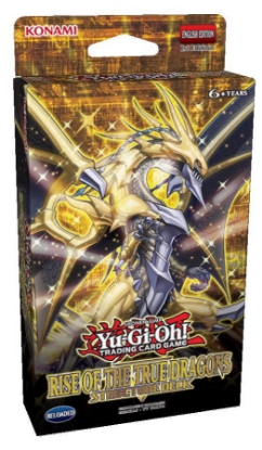 Picture of YuGiOh! Rise of the True Dragons Structure Deck ::  Cards Only - No Box! ::