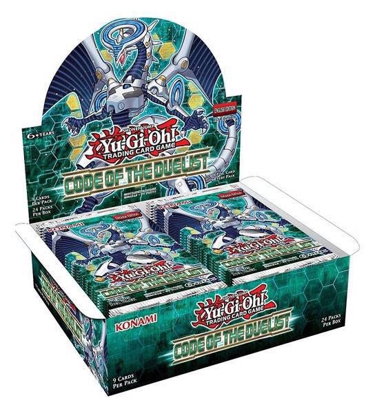 Code of the Duelist Box x24 Booster Packs Brand New /& Sealed Box YuGiOh