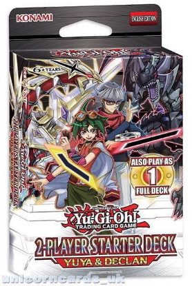 Picture of YuGiOh! 2-Player Starter Deck Yuya & Declan 42 Cards + Game Mat + Guide - No Box