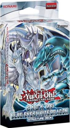 Picture of Yu-Gi-Oh! Saga of Blue-Eyes White Dragon UNL Edition Structure Deck - Sealed Box