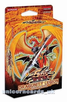Picture of YuGiOh Dragunity Legion Structure Deck 1st Edition Sealed Cards Only - No Box!