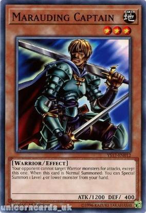 Picture of YS17-EN012 Marauding Captain 1st Edition Mint YuGiOh Card
