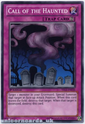 Picture of YS12-EN036 Call of the Haunted 1st Edition Mint YuGiOh Card