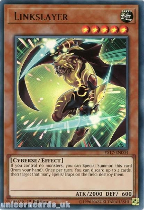Picture of YS17-EN004 Linkslayer Ultra Rare 1st Edition Mint YuGiOh Card