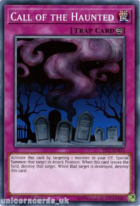 Picture of YS17-EN033 Call of the Haunted 1st Edition Mint YuGiOh Card