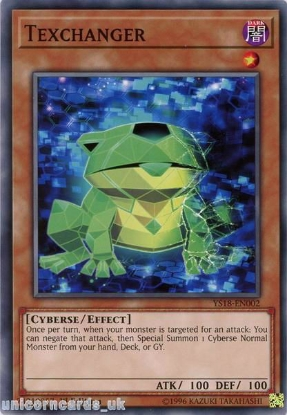 Picture of YS18-EN002 Texchanger 1st Edition Mint YuGiOh Card
