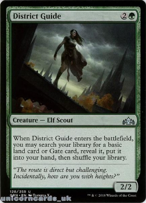 Picture of District Guide Guilds of Ravnica GRN-128 Mint MTG Card