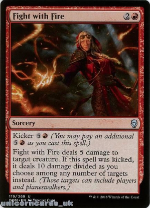 Picture of Fight with Fire Dominaria DOM-119 Mint MTG Card