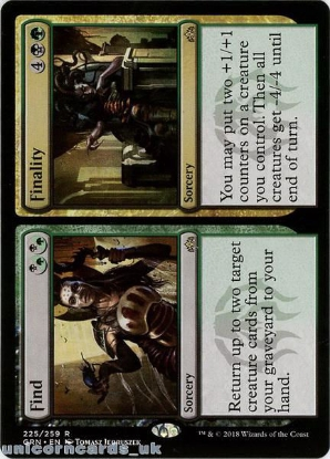 Picture of Find // Finality Guilds of Ravnica GRN-225 Rare Mint MTG Card