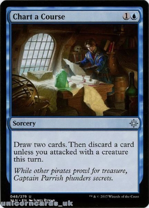 Picture of Chart a Course Ixalan XLN-048 Mint MTG Card