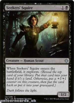 Picture of Seekers' Squire Ixalan XLN-121 Mint MTG Card