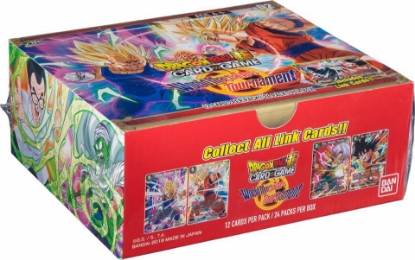 Picture of DragonBall Super Card Game - Themed Booster Box ::  World Martial Arts Tournament :: Brand New And Sealed! ::