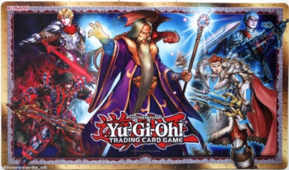 Picture of Yu-Gi-Oh! Noble Knights Of The Round Table Playmat :: Official Konami Mat ::