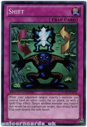 Picture of WGRT-EN079 Shift Super Rare Limited Edition Mint YuGiOh Card