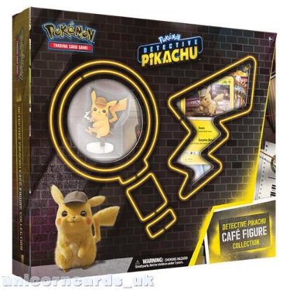 Picture of Pokemon TCG: Detective Pikachu Cafe Figure Collection :: Brand New And Sealed!