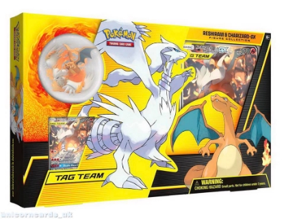 Picture of Pokemon TCG: Reshiram & Charizard-GX Figure Collection :: Brand New And Sealed!