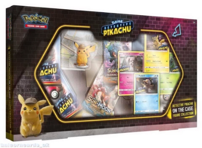 Picture of Pokemon TCG: Detective Pikachu On the Case Figure Collection :: Brand New And Sealed!