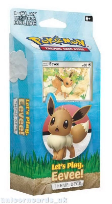 Picture of Pokemon TCG: Let's Play, Eevee! Theme Deck :: Brand New And Sealed!