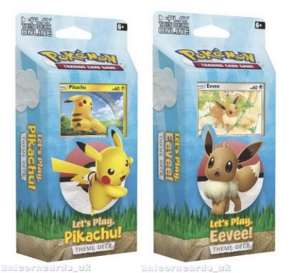 Picture of Pokemon TCG: Let's Play, Pikachu/Eevee! Theme Decks :: Both Designs :: Brand New And Sealed!