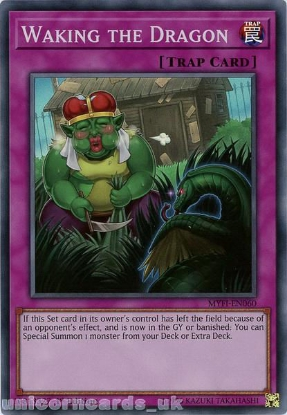 Picture of MYFI-EN060 Waking the Dragon Super Rare 1st Edition Mint YuGiOh Card