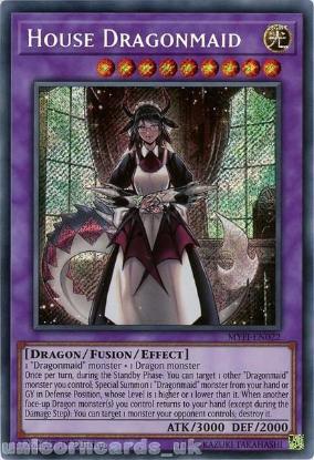 Picture of MYFI-EN022 House Dragonmaid Secret Rare 1st Edition Mint YuGiOh Card