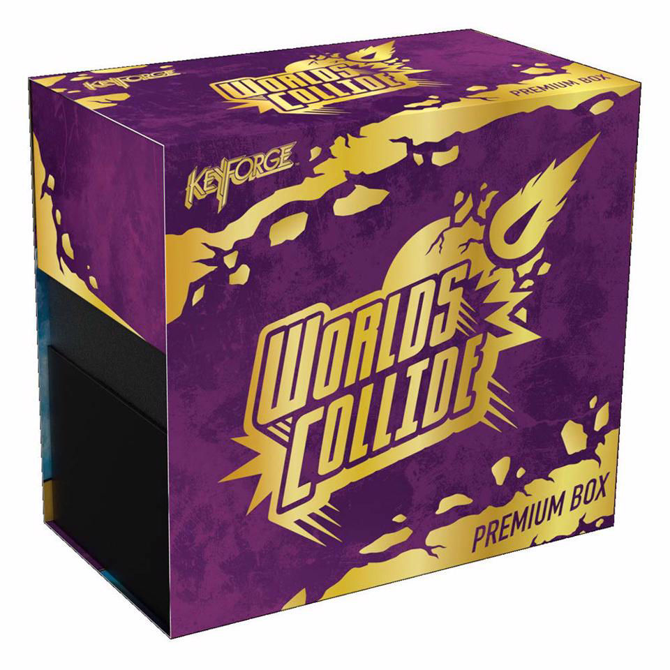 Brand New And Sealed Box KeyForge Worlds Collide Deluxe Archon Deck