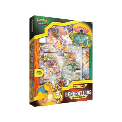 Picture of Pokemon TCG: TAG TEAM Generations Premium Collection :: Brand New And Sealed Box!