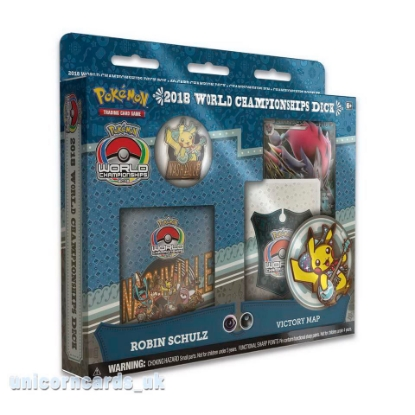 Picture of Pokemon TCG: 2018 World Championships Deck - Robin Schulz :: Brand New And Sealed!