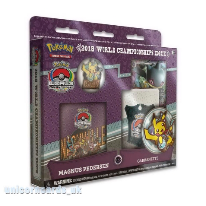 Picture of Pokemon TCG: 2018 World Championships Deck - Magnus Pedersen :: Brand New And Sealed!
