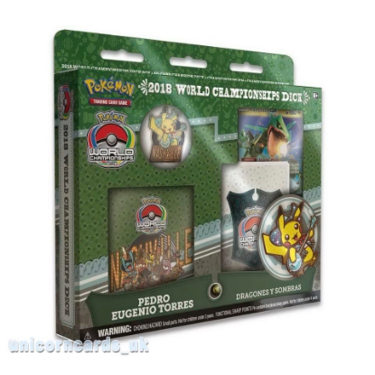 Picture of Pokemon TCG: 2018 World Championships Deck - Pedro Eugenio Torres :: Brand New And Sealed!