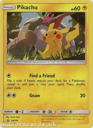 Picture of Pikachu SM234 Black Star Promo Holo Mint Pokemon Card
