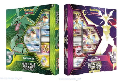 Picture of Pokemon TCG: Battle Arena Decks - Rayquaza GX vs Ultra Necrozma GX :: Set of 2 :: Brand New And Sealed Boxes! ::