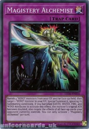 Picture of LED6-EN016 Magistery Alchemist Super Rare 1st Edition Mint YuGiOh Card