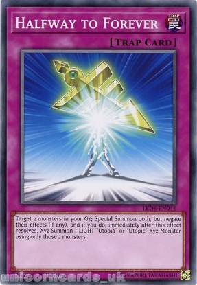 Picture of LED6-EN044 Halfway to Forever Common 1st Edition Mint YuGiOh Card