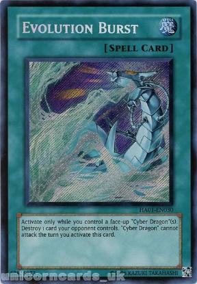 Picture of HA01-EN030 Evolution Burst Secret Rare UNL Edition Mint YuGiOh Card