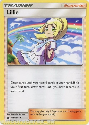 Picture of Lillie 125/156 :: BDRN :: Uncommon Mint Pokemon Card