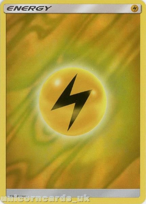 Picture of Lightning Energy [Foil] :: BDRN :: Holo Foil Mint Pokemon Card