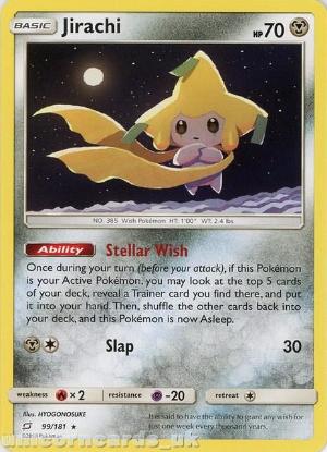 Picture of Jirachi 99/181 :: BDRN :: Rare Mint Pokemon Card