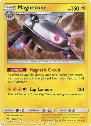 Picture of Magnezone 36/131 :: BDRN :: Rare Mint Pokemon Card