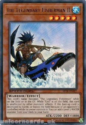 Picture of SBTK-EN027 The Legendary Fisherman II Ultra Rare 1st Edition Mint YuGiOh Card