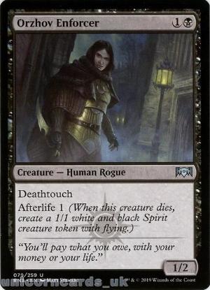 Picture of Orzhov Enforcer Uncommon Mint MTG Card :: Throne of Eldraine Brawl Decks ::