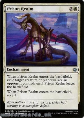 Picture of Prison Realm Uncommon Mint MTG Card :: Throne of Eldraine Brawl Decks ::