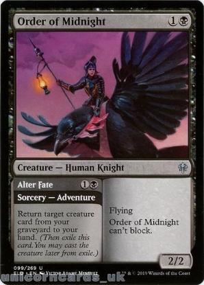 Picture of Order of Midnight Uncommon Mint MTG Card :: Throne of Eldraine Brawl Decks ::